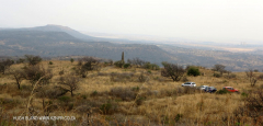 Colenso - Inniskilling Hill - the plateau half way up Harts. (1)