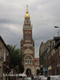 Albert Town hall with statue of Virgin Mary (1)