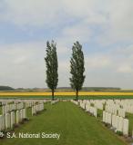 Guillemont Cemetery near Longueval