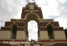Thiepval Memorial - 60000 names with no known grave
