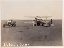 Verneuk Pan - 1927 De Havilland Moth - land speed record