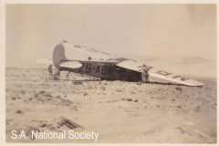 A  Union Airways casualty