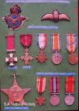 Lt. Col. A.M. Miller Medals