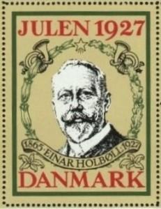 Einar Holboll Stamp