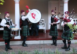 1 Medical Bn Mini Pipe Band