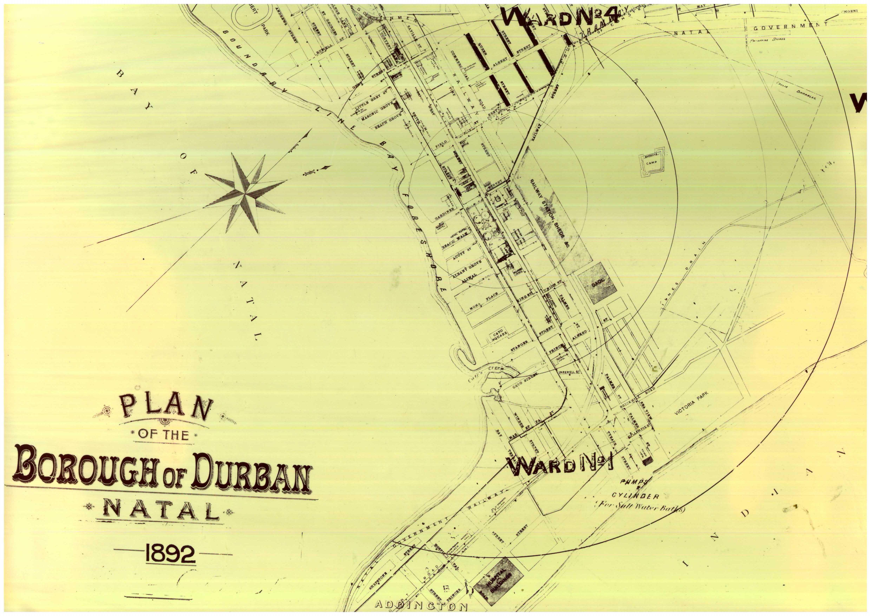 Durban Map 1892