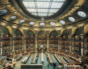 Reading Room Bibliothéque Nationale de France