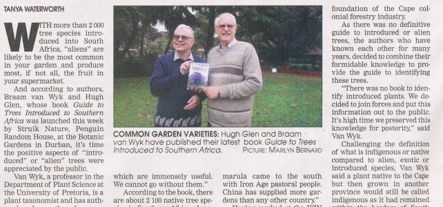 Guide To Trees Introduced Introduced into South Africa – Hugh Glen and Braam VanWyk