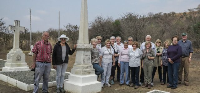 S.A. National Society Battlefields Trip – August 2018