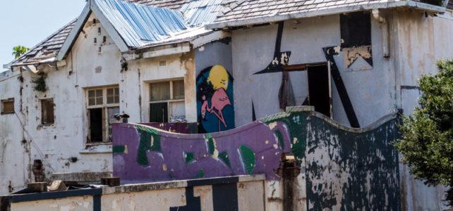 Derelict houses in Durban