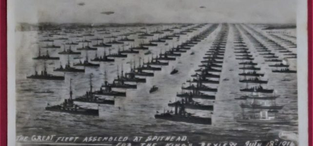Naval Display – Spithead – July 1914