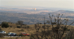 Colenso - Inniskilling Hill - view towards Colenso cooling towers (2.) .(2)