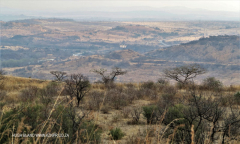Colenso - Inniskilling Hill view towards Onderbrook Spruit