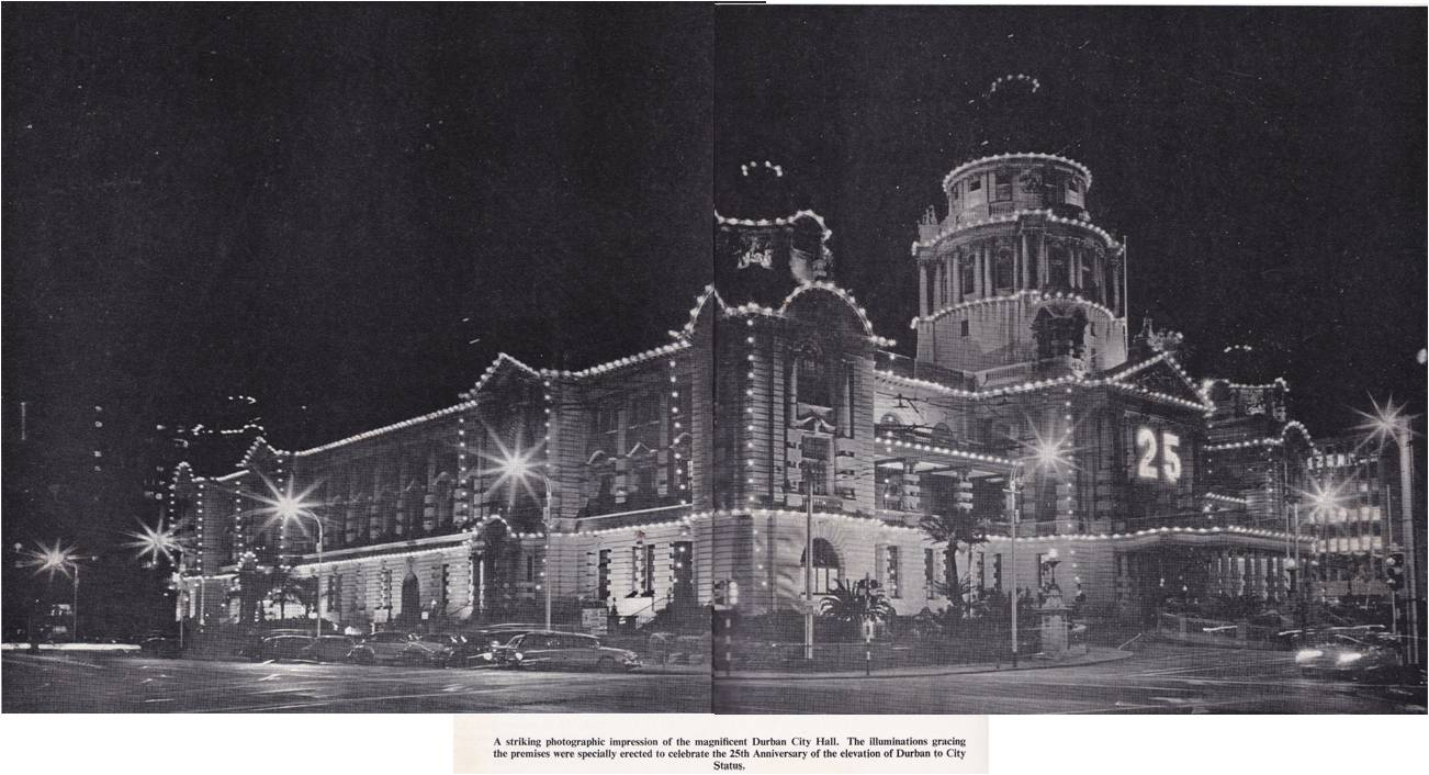 Review of Durban from its beginnings to its Silver Jubilee of City Status