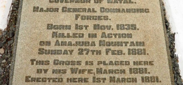 Mount Prospect Cemetery – 1881 – First Anglo Boer War
