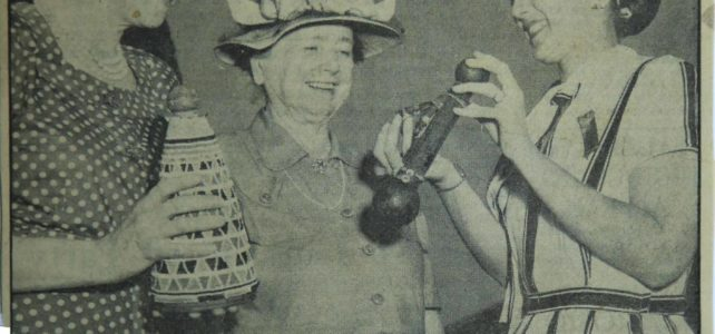 Daphne Strutt and Dr Killie Campbell and the Mpondo Dolls