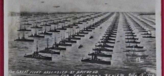 Naval Display – Spithead – July 1914
