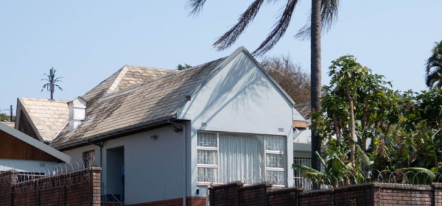 Durban North's first home – 35 Northway.