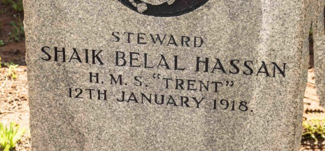Muslim Cemetery – Durban North – Steward Shaik Hassan – HMS Trent.